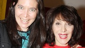 Diane Paulus and Andrea Martin obviously love working together!