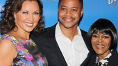 In The Trip to Bountiful, Vanessa Williams and Cuba Gooding Jr. star as Jessie Mae and Ludie Watts, a married couple who refuse to let their mother Carrie (Cicely Tyson, r.) return to her hometown one last time.