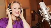 Annie's two-time Tony-winning star Katie Finneran welcomes Broadway.com to the recording studio.