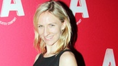 Mickey Sumner shows off her adorable opening night look. Loving the red socks!
