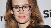 Talleys Folley star Sarah Paulson takes a night off to take in the mystery of The Mound Builders.