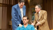 Richard Kind as Marcus Hoff, Bobby Cannavale as Charlie Castle and Chip Zien as Nat Danziger in The Big Knife.