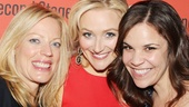 Its an Everyday Rapture reunion! Sherie Rene Scott, Betsy Wolfe and Lindsay Mendez catch up.