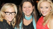 Funny ladies Rachael Harris and Camryn Manheim cheer on Betsy Wolfe on her big night!