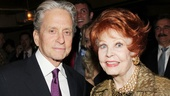 Marty Richards- Michael Douglas- Arlene Dahl