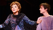 Andrea Martin as Berthe and Matthew James Thomas as Pippin in Pippin.