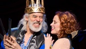 Terrence Mann as Charles and Charlotte d&#39;Amboise as Fastrada in Pippin.