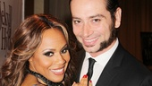 After a long tour around the country, Jekyll & Hyde headliners Deborah Cox and Constantine Maroulis celebrate their opening night on Broadway.