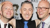 Cumming gets silly with his two directors, John Tiffany and Andrew Goldberg.