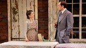 Kathryn Erbe as Natasha Nabokov and Stephen Kunken as Nikolai Nabokov in Nikolai and the Others.