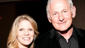 Kelli O'Hara and Victor Garber served as co-hosts of the Our Time gala—and offered to have lunch with the lucky winner of a Broadway prize package!