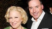 Bette Midler gets some opening night love from Broadway and West End producer David Furnish.