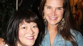 Next up for a snapshot with Brooke Shields is Ann Harada, a.k.a. stepsister Charlotte.