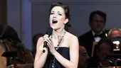 Who got to sing People? Cinderellas Laura Osnes! Wed say the audience members were the luckiest people in the world.