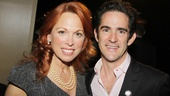 Scandalous star Carolee Carmello gets in some quality time with Bring It Ons nominated choreographer Andy Blankenbuehler (who also directed the high-flying show).