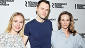 Sarah Goldberg, Christopher Denham and Lisa Emery will have their lives shaken up by the sudden appearance of the titular character.