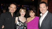 It's the first of many awards seasons events for Matilda director Matthew Warchus and stars Lauren Ward, Lesli Margherita and Bertie Carvel.