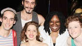 Pippin – Whoopi Backstage Visit – Gregory Arsenal – Yannick Thomas – Lolita Costet – Whoopi Goldberg – Philip Rosenberg