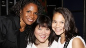 Backstage, Audra and Zoe also share a moment with Cinderella's super-funny featured player Ann Harada.