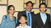 Spelling Bee Champ at Matilda – Arvind Mahankali – family