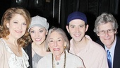Mary Rodgers at Cinderella – Mary Rodgers – Victoria Clark – Laura Osnes – Santino Fontana – William Ivey Long – Ted Chapin