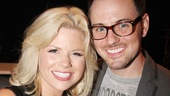 Who is Megan Hilty's Broadway Date night escort? Her boyfriend Brian Gallagher, of course.