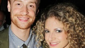 Lauren Molina is thrilled to have her boyfriend, Avenue Q alum Rob Morrison, by her side on opening night.