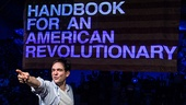 Show Photos - Handbook for an American Revolutionary - Matthew-Lee Erlbach