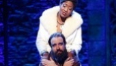 Amber Iman as Nina Simone and Eric Anderson as Shlomo Carlebach in Soul Doctor: Journey of a Rock-Star Rabbi.