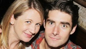 Broadway husband-and-wife duo Sara Jean Ford and Drew Gehling (Jersey Boys) are expecting a baby!