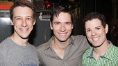 The Book of Mormon 1,000 performances – Jason Michael Snow – Clark Johnsen – Jacob ben Widmar
