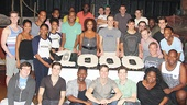 The Book of Mormon 1,000 performances – cast