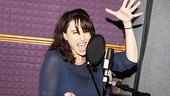 "Lesli Margherita (who plays Mrs. Wormwood, Matilda's selfish mother) lays down her riotous song ""Loud"" in the recording studio."