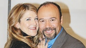 Victoria Clark and Danny Burstein star as Clarissa and Max Hohmann in The Snow Geese.