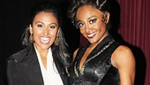 Pippin star Patina Miller teaches Nina Davuluri how to strike a Fosse pose!