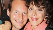 It's an Oklahoma! reunion! Patrick Wilson and Andrea Martin hang out on the autograph line.