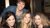 Lindsay Mendez, Derek Klena, Katie Rose Clarke and Carol Kane know how to take a Wicked good photo.