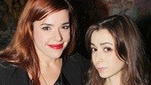 How I Met Your Mother's Cristin Milioti spends some quality time at the after-party with Bring It On alum Alysha Umphress.