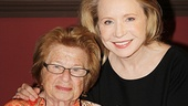 'Becoming Dr. Ruth' Press Day — Dr. Ruth Westheimer — Debra Jo Rupp