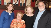 'Becoming Dr. Ruth' Press Day — Julianne Boyd — Dr. Ruth Westheimer — Debra Jo Rupp — Mark St. Germain