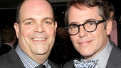 Brad Oscar is thrilled his former Producers co-star Matthew Broderick stopped by to congratulate him.