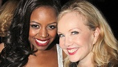 Big Fish star Krystal Joy Brown and director and choreographer Susan Stroman soak in the excitement at the starry bash.