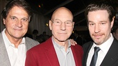 Former White Sox manager Tony La Russa, stage and screen star Patrick Stewart and A Time to Kill director Ethan McSweeny look dapper on opening night.