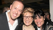 Fun Home Opening Night – Chris Fenwick – Lisa Kron – Leigh Silverman