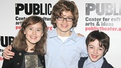 Fun Home Opening Night – Sydney Lucas – Griffin Birney – Noah Hinsdale