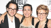 Fun Home Opening Night – Sam Gold – Jeanine Tesori – Lisa Kron