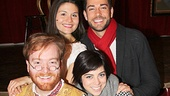 Natasha, Pierre stars David Abeles and Phillipa Soo welcome First Date stars Krysta Rodriguez and Zachary Levi to a musical afternoon of Tolstoy.
