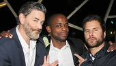 After Midnight opening night – Tim Omundson – Dule Hill – James Roday