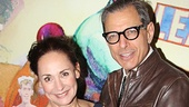 We'll close with the two reasons Domesticated is a must-see: Laurie Metcalf and Jeff Goldblum. Congrats, you two!
