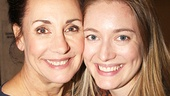 A beautiful mother/daughter pic of Laurie Metcalf and Zoe Perry, who co-starred on Broadway last season in The Other Place